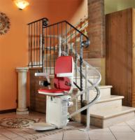 AmeriGlide Platinum Curved Stair Lift - HD